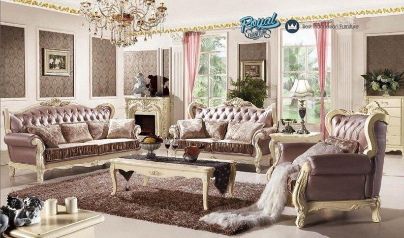 sofa ruang tamu mewah 1
