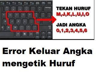 Kali ini admin akan mengulas topik cara mengatasi keyboard laptop error dan keyboard pc ti Cara Mengatasi Keyboard PC Laptop Error Keluar Angka mengetik Huruf