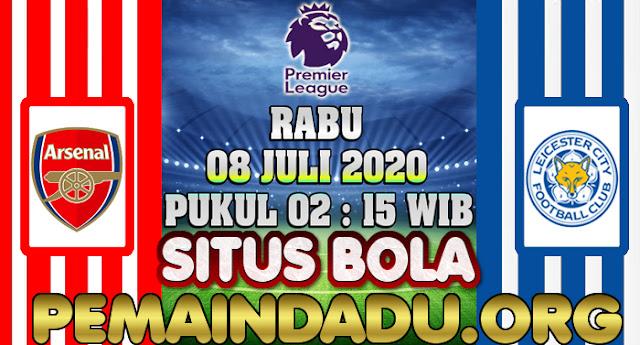 Prediksi Pertandingan Arsenal Vs Leicester City 8 Juli 2020