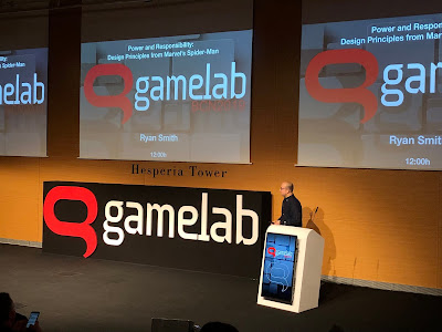 ryan smith, gamelab 2019, spiderman