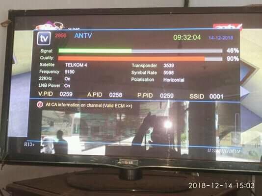 Daftar Frekuensi Terbaru Telkom 4 108.5°BT