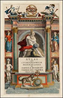 Atlas, Sive Cosmographicae Meditationes De Fabrica Mundi title page