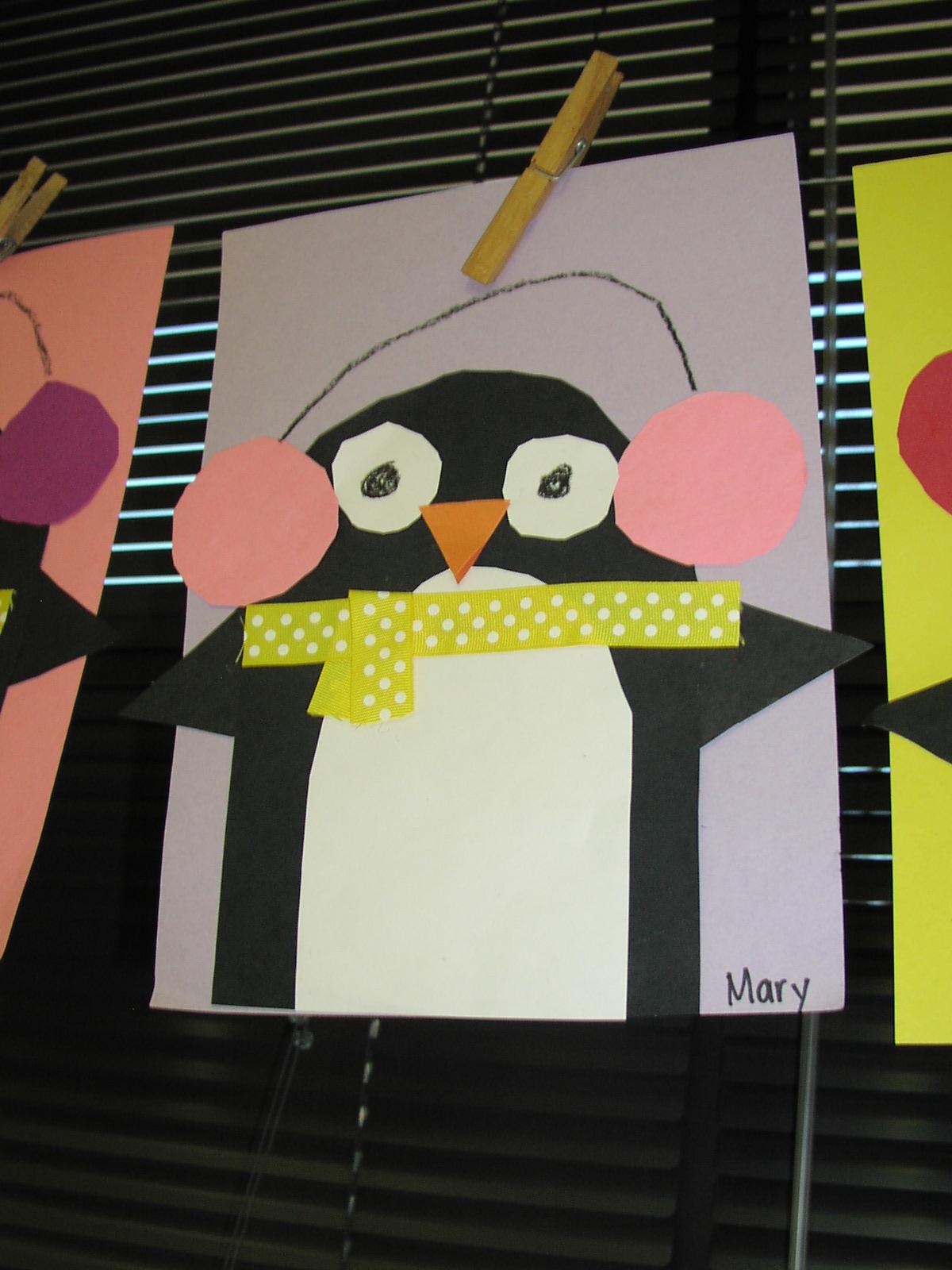 Keen On Kindergarten Winter Art Projects