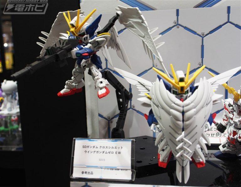 Sdcs Wing Gundam Zero Ew Exhibited At 58th Shizuoka Hobby Show Gundam Kits Collection News And Reviews