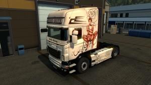 Hard Boys & Hot Girls Skin for Scania RJL
