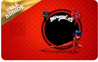 Prodigiosa Ladybug  Free Printable  Visa Invitation.