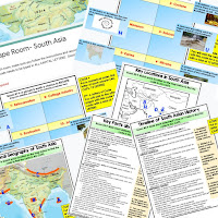 South Asia Digital Escape Room South Asia Geography Vocabulary All About South Asia Activity Mapping South Asia Activity  Physical Geography of South Asia Activity Timeline of South Asia Activity