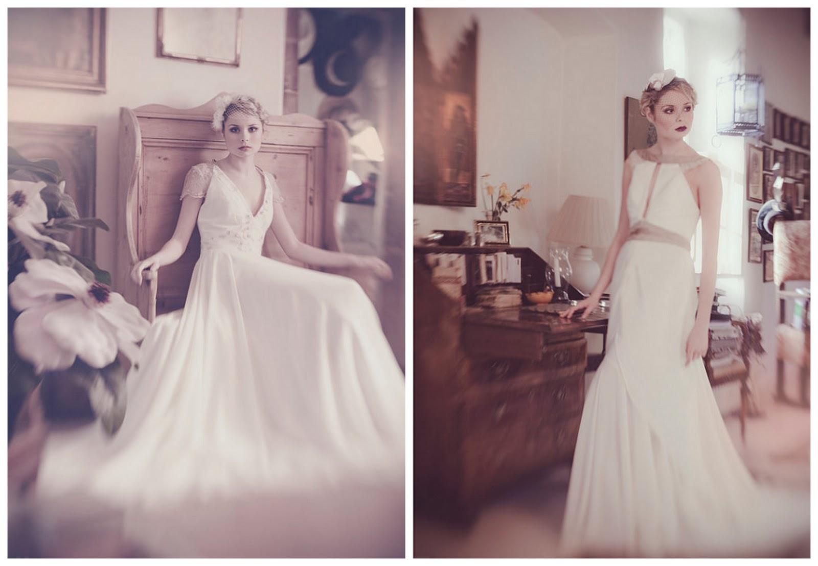 Elegant Vintage Style Wedding Dresses
