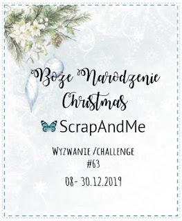 Boże Narodzenie – wyzwanie na blogu ScrapAndMe