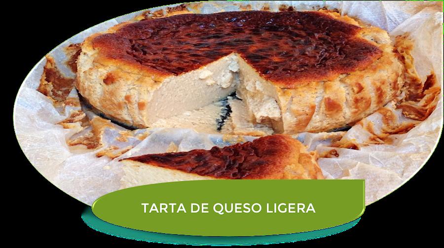 TARTA DE QUESO LIGERA CON THERMOMIX