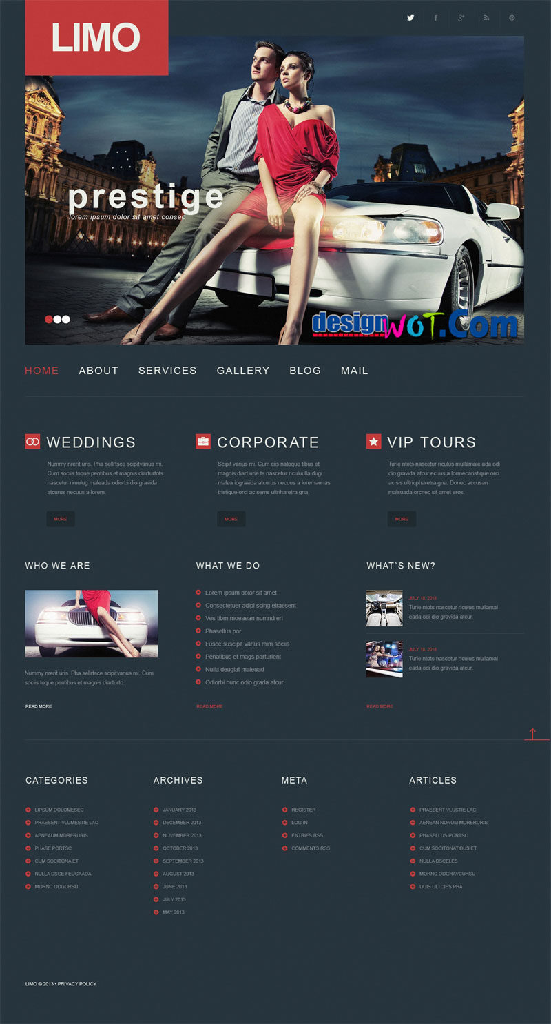 LIMO Responsive WordPress Theme