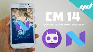 Cara Install Samsung Galaxy Grand Duos ke OS Nougat 7.1 ROM Lineage 14.1