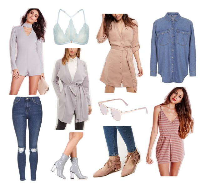 March Wishlist - Missguided, NewLook, Topshop & More!
