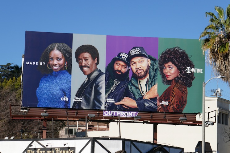 Made by Showtime billboard