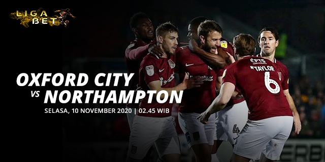 PREDIKSI PARLAY OXFORD CITY VS NORTHAMPTON SELASA 10 NOVEMBER 2020