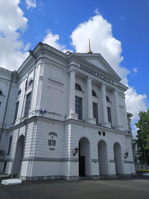 Томск, архитектура, достопримечательности, университет