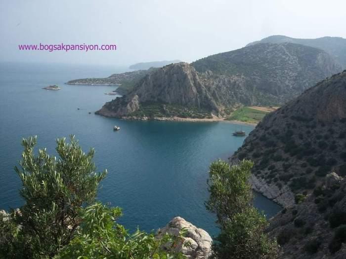 Barbaros Koyu Eğribük Plajı