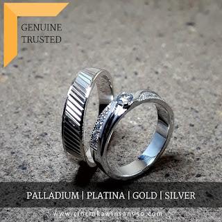 cincin nikah platina terbaru