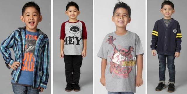Dua Jenis Baju anak laki - laki