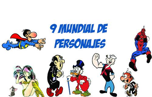 Noveno mundial de personajes del foro la T.I.A