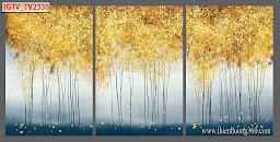 Bộ tranh treo tường 3 tấm