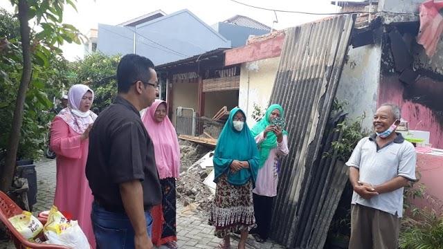 Ny. Nurahma Hasyim Menangis Dikunjungi Rizal Bawazier, Calon Walikota Tangsel