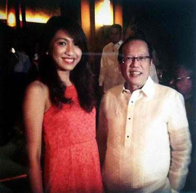PNoy photo with Janet Napoles daughter - Jeanne Napoles