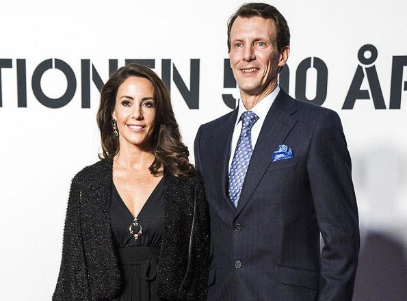 Queen Margrethe, Crown Prince Frederik, Crown Princess Mary, Prince Joachim, Princess Marie