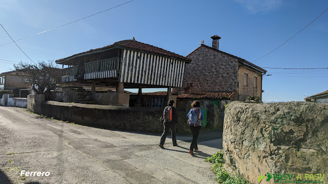 Hórreo en Ferrero, Gozón
