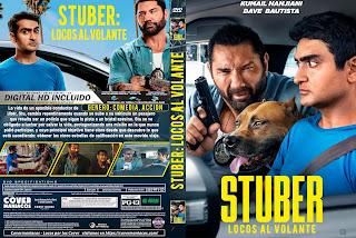 STUBER LOCOS AL VOLANTE – STUBER – 2019 [COVER DVD+BLU-RAY]