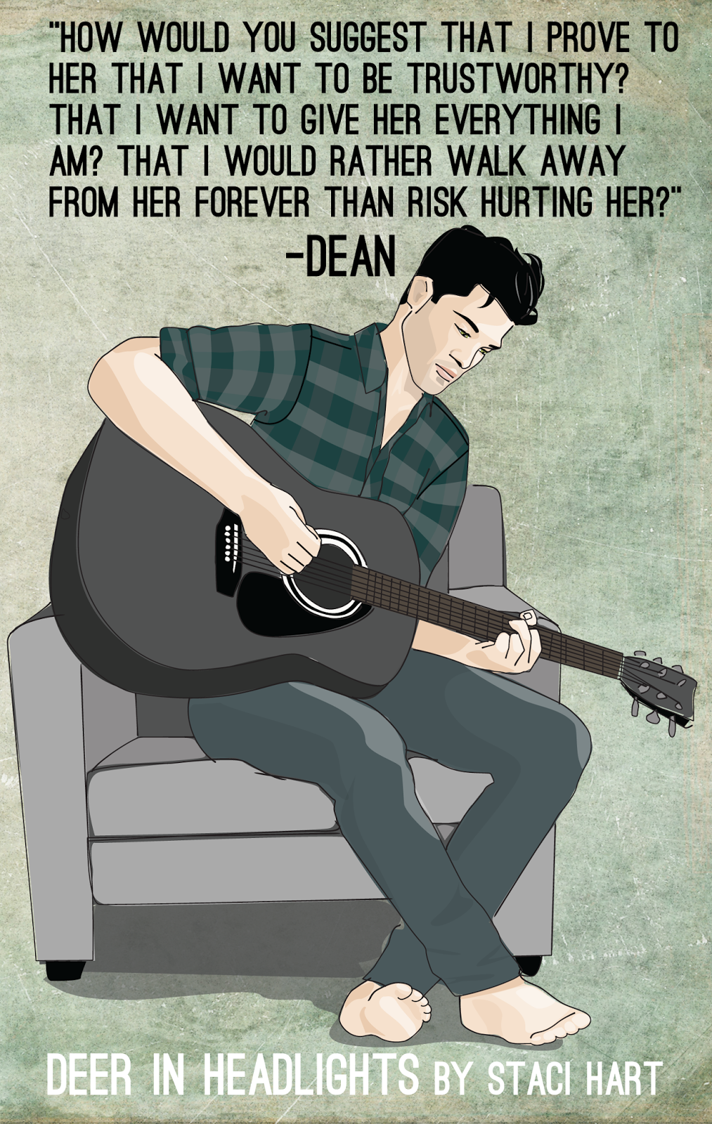 Meet the Characters in the Good Gods Series ~ Dean