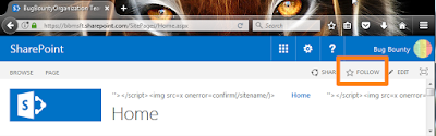 Follow a Site Feature in SharePoint