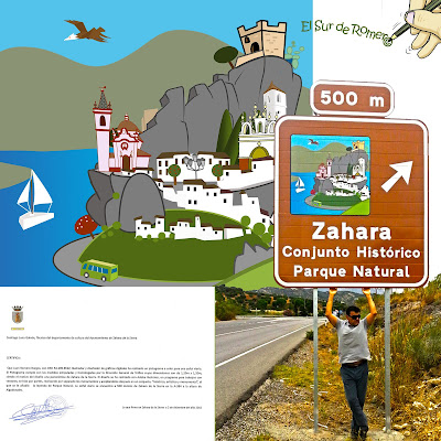Pictograma de Zahara de La Sierra