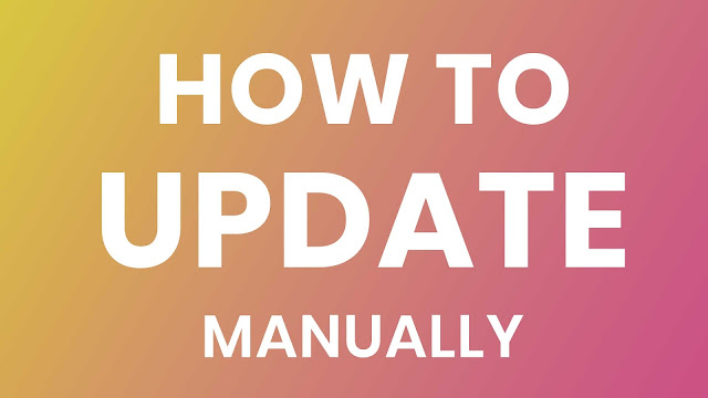 Manually Update Any Custom Rom Without Data Loss