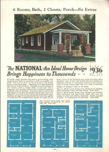 Sears Hampton lookalike Liberty Homes National