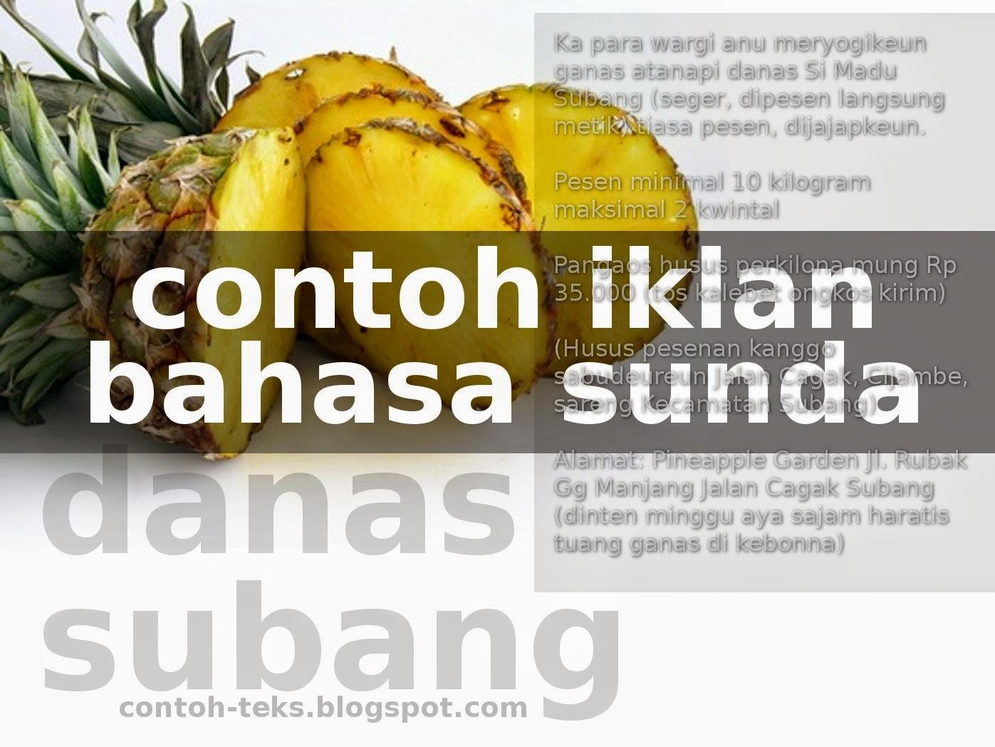 Cerita Bahasa Sunda Sumedang Sunda Wikipedia Bahasa Indonesia Ensiklopedia Bebas Nampi Pesenan Teks Iklan Basa Sunda Panduanmu