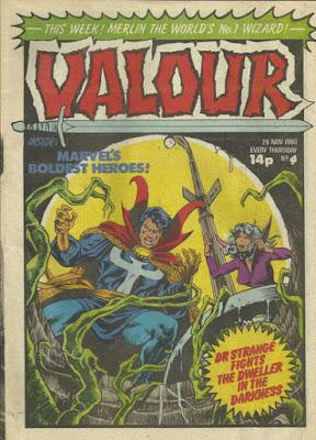 Valour #4, Doctor Strange