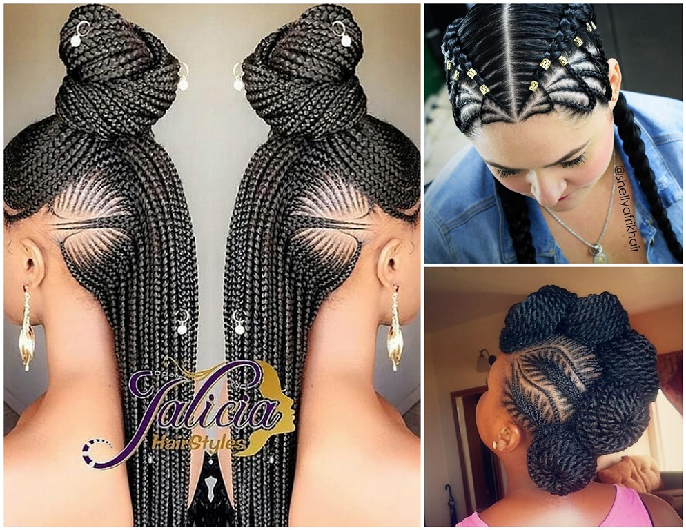 2018 Braided Cornrows : These are Lovely Hairstyles | | Zaineey's Blog
