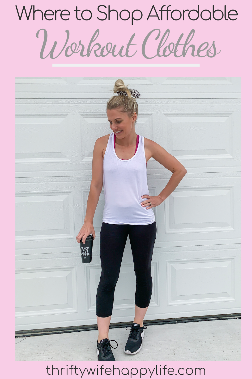 Where to shop affordable workout clothes