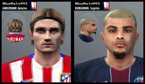 Face Griezmann & Kurzawa FIX   By BR92 Griezmann - Hair Fix   Atlético de Madrid - LaLiga   France NT...