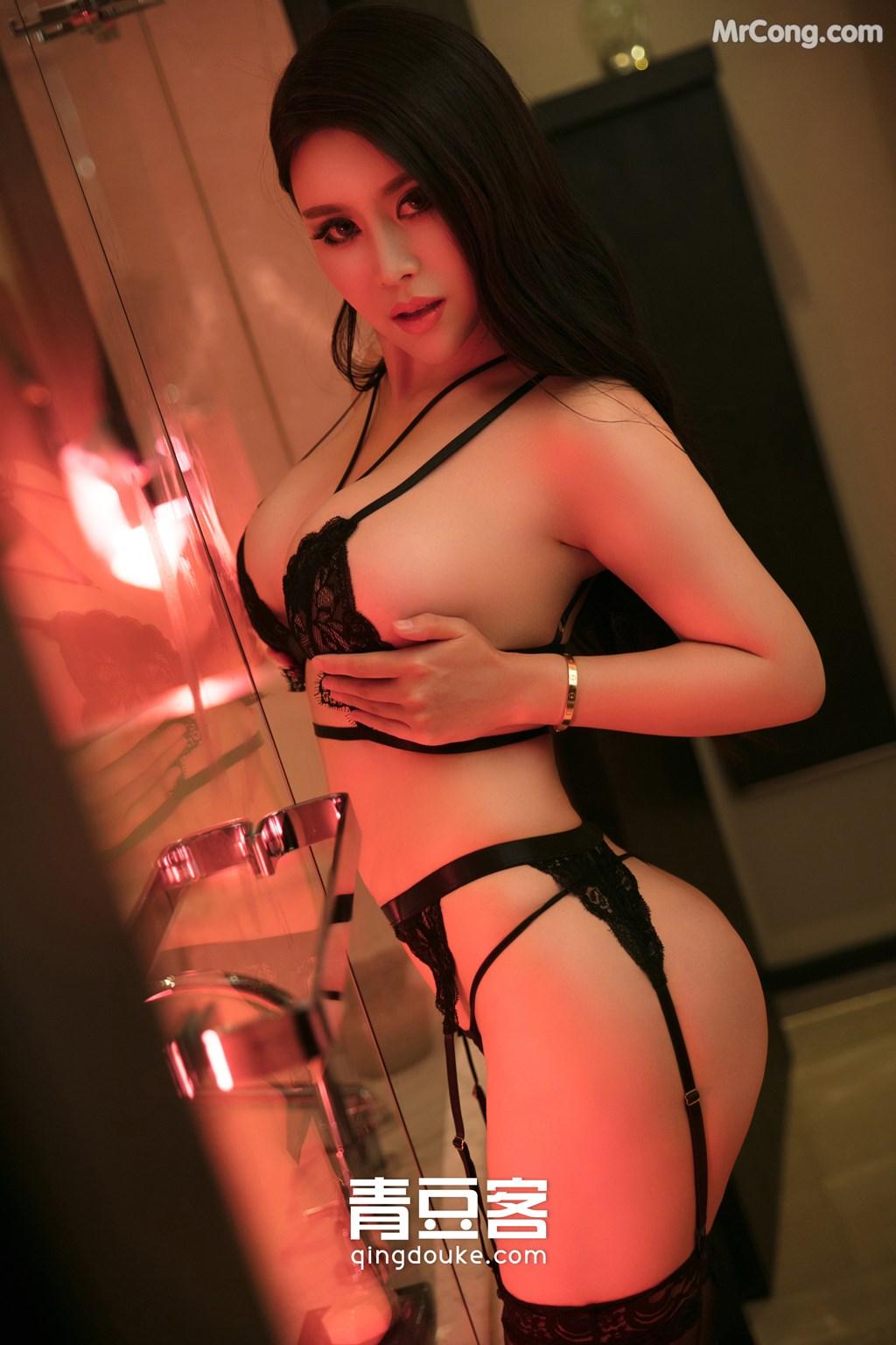 Image QingDouKe-2017-11-05-Ke-Rui-Na-MrCong.com-030 in post QingDouKe 2017-11-05: Người mẫu Ke Rui Na (可蕊娜) (48 ảnh)