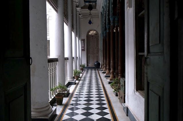 Corridor at Bari Kothi