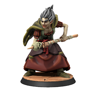 Baba Yaga from HeroForge