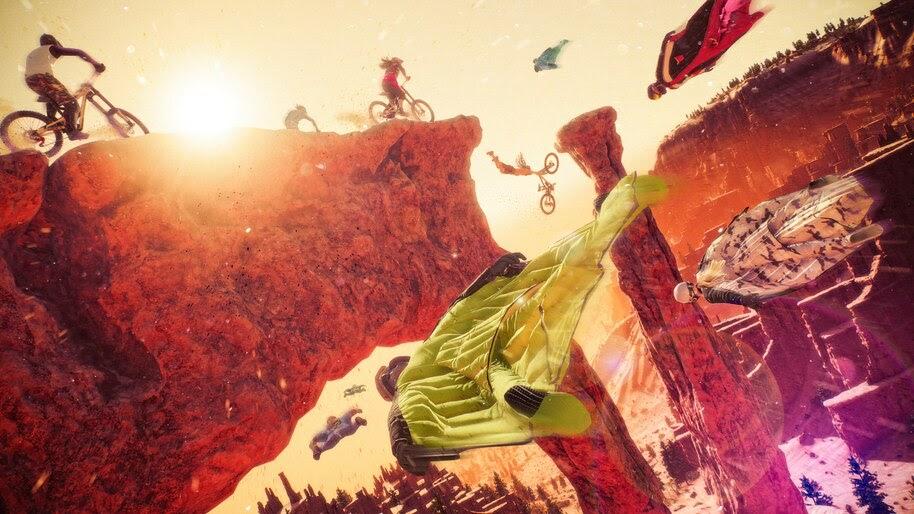 Riders Republic, Wingsuit, Flying, 4K, #7.2733