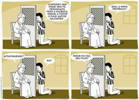 Botafogo nunca mais!
