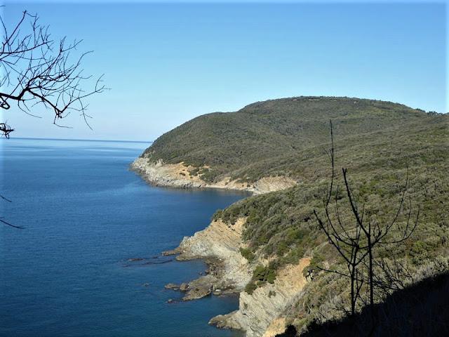 panorama sul tratto costiero