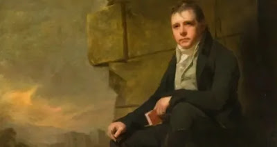 In 1814, Scott completed a novel of which he had written seven chapters in 1805 and a few more in 1810 and published it anonymously as Waverley.