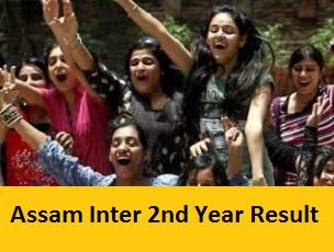 Assam Inter 2nd Year Result 2017