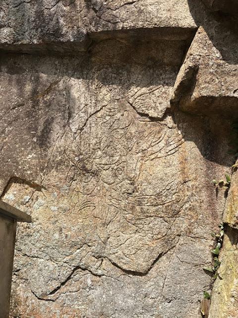 大石磨崖仏