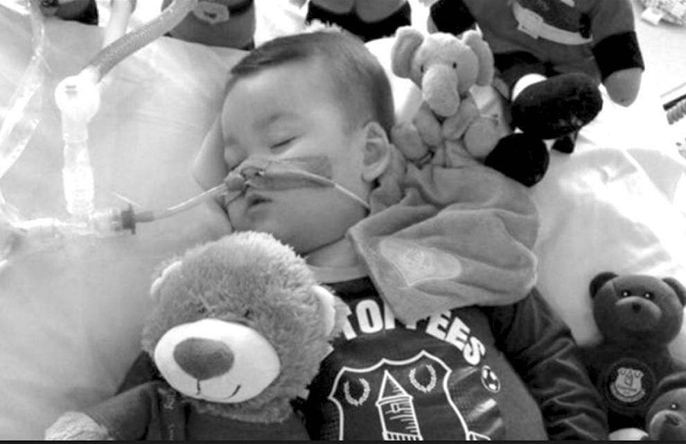 Alfie Evans se fue con apenas 23 meses de lucha por su vida / WEB